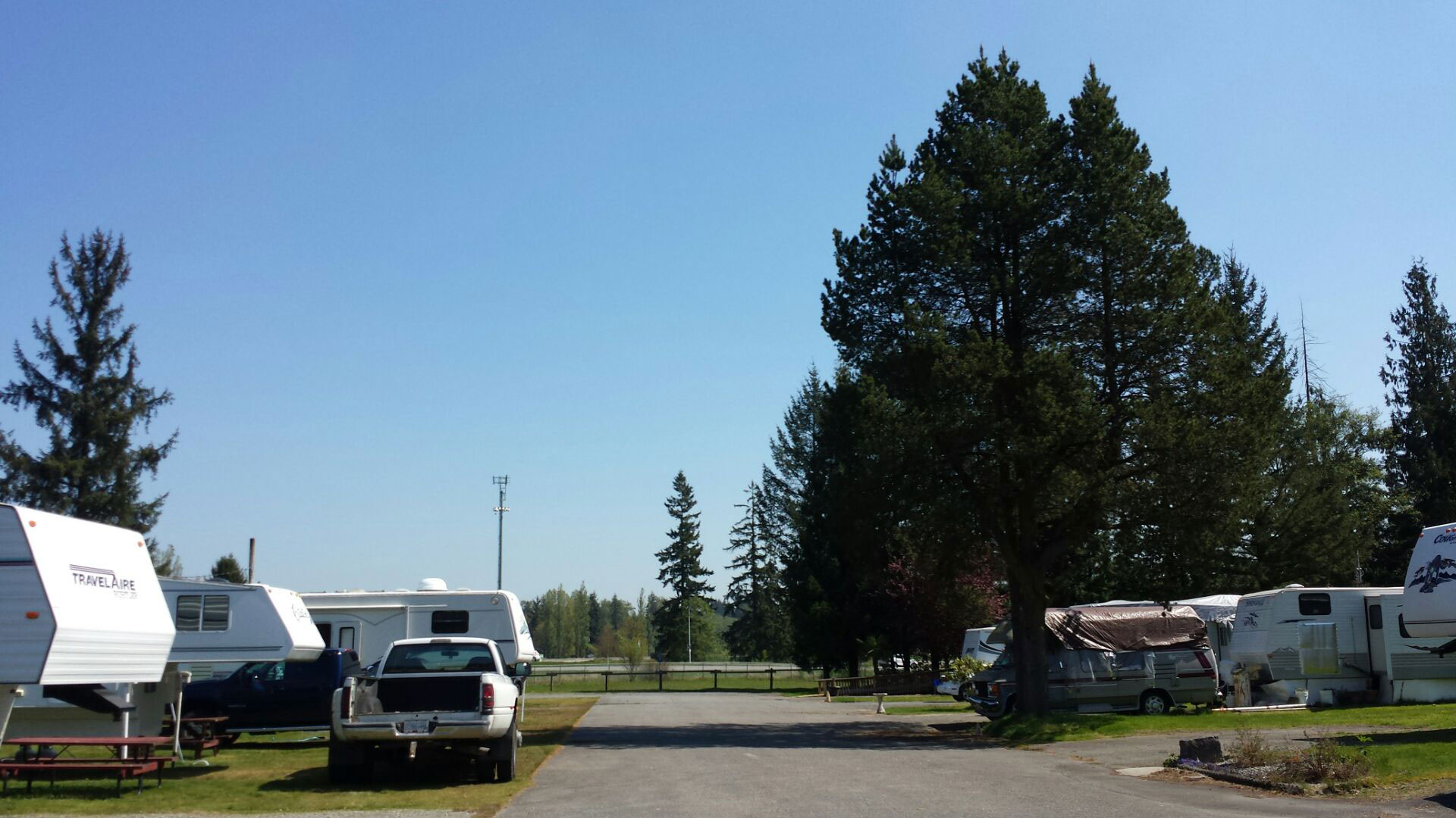 Livingstone RV Park Formerly Campsite Trailer Is Located At 23141 72nd Ave In Langley BC Between 232nd St And